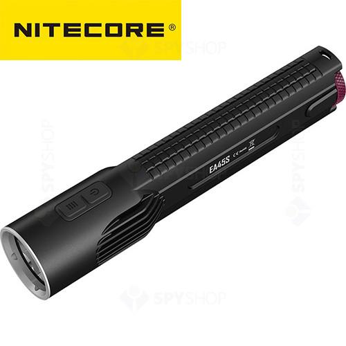 Lanterna profesionala Nitecore Unibody EA45S - 1000 Lumeni