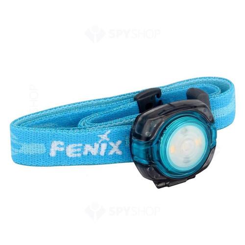 Lanterna profesionala pentru cap Fenix HL05, 8 lumeni, 4.5 m, albastru