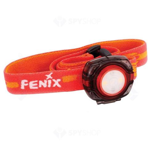 Lanterna profesionala pentru cap Fenix HL05, 8 lumeni, 4.5 m, rosu
