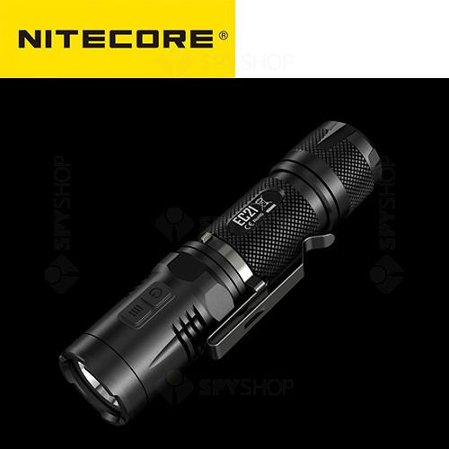 Lanterna profesionala tactica Nitecore EC21 - 460 Lumeni
