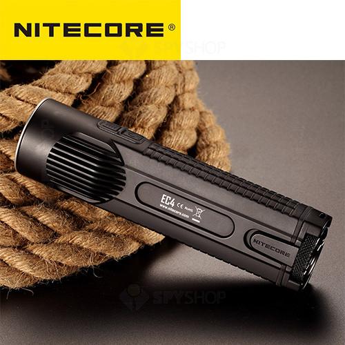 Lanterna profesionala tactica Nitecore EC4 - 1000 Lumeni