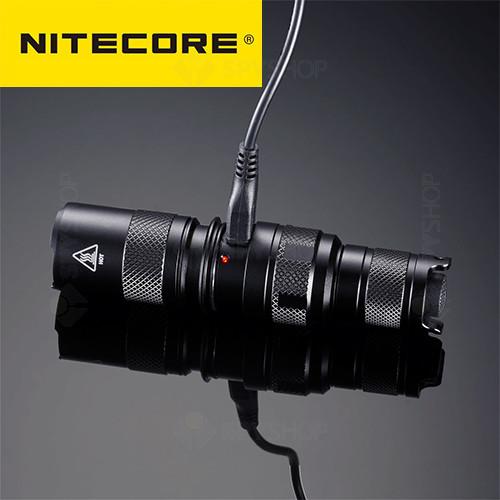 Lanterna profesionala tactica Nitecore MH1C - 600 Lumeni