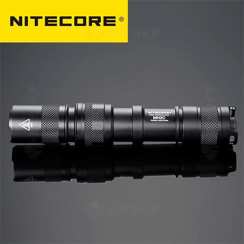 Lanterna profesionala tactica Nitecore MH2C - 800 Lumeni