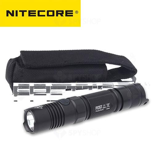 Lanterna profesionala tactica Nitecore Precise P12GT - 1000 Lumeni