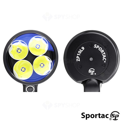 Lanterna profesionala tactica Sportac ZP10L9 Battery Kit