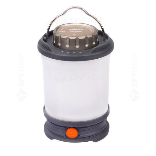 Lanterna reincarcabila pentru camping Fenix CL30R, 650 lumeni, 35 m, gri