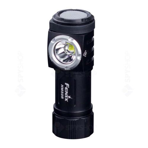Lanterna reincarcabila pentru cap Fenix HM50R, 500 lumeni, 80 m
