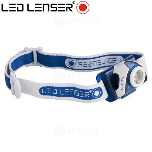 Lanterna profesionala pentru cap LED Lenser SEO7R - 200 Lumeni
