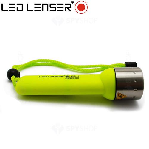 Lanterna profesionala LED Lenser Frogman D14  - 180 Lumeni
