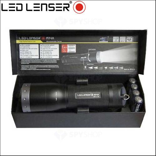 Lanterna profesionala LED Lenser M14X - 650 Lumeni