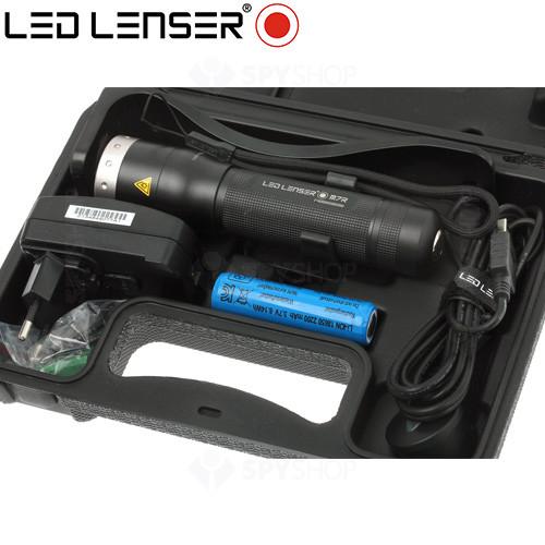 Lanterna profesionala LED Lenser M7R - 220 Lumeni