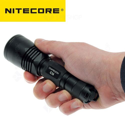 Lanterna profesionala Nitecore Chameleon CI6 - 440 Lumeni