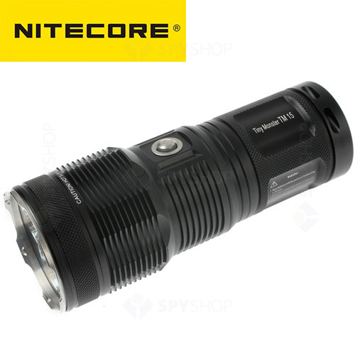 Lanterna profesionala Nitecore Tiny Monster TM15 - 2650 Lumeni