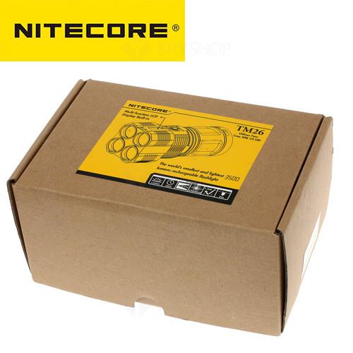 Lanterna profesionala Nitecore Tiny Monster TM26 - 3800 Lumeni