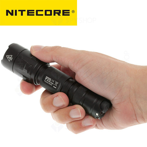 Lanterna profesionala tactica Nitecore Precise P20 - 800 Lumeni