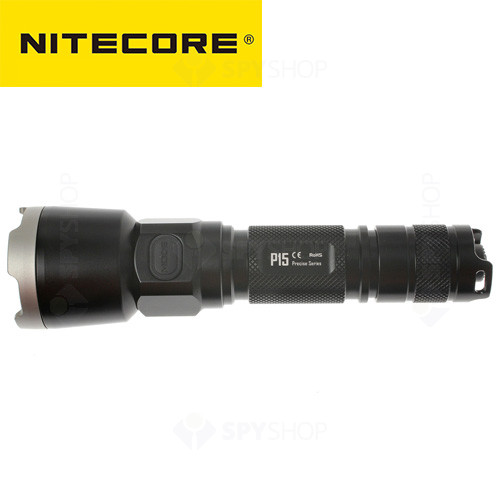 Lanterna profesionala tactica Nitecore Precise P15 - 430 Lumeni