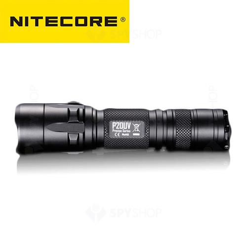 Lanterna profesionala tactica Nitecore Precise P20UV - 800 Lumeni