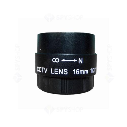 Lentila fixa de 16 mm pentru camere video
