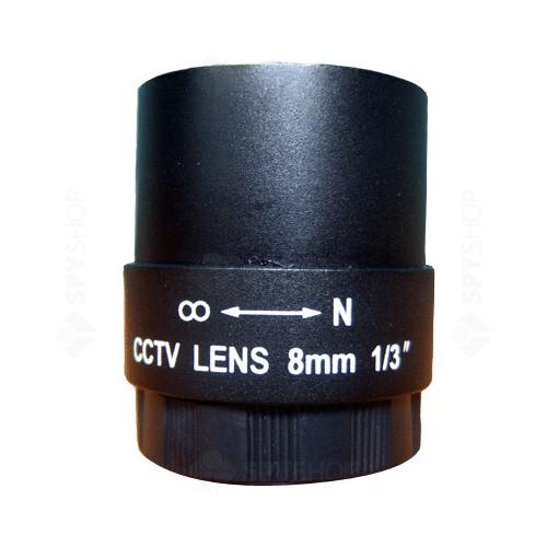 Lentila fixa de 8mm cu unghi de 40 grade IF-8