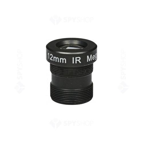 Lentila megapixel de 12 mm pentru camere video 012MTV