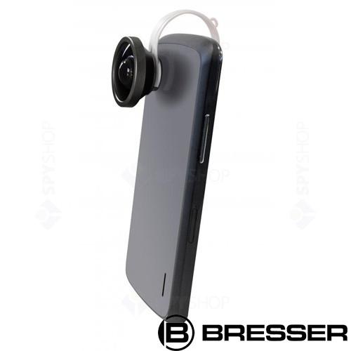 Lentila pentru smartphone Clip-on 150 grade Super Wide-Angle Bresser 8911002