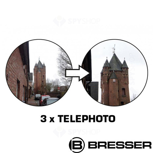 Lentila pentru smartphone Clip-on 3x telephoto Bresser 8911001