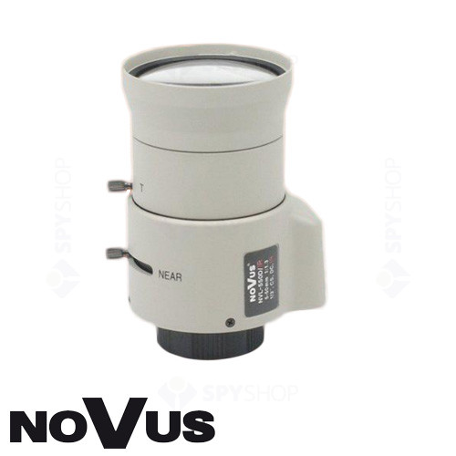 Lentila varifocala de 5-50 mm Novus NVL-550D/IR
