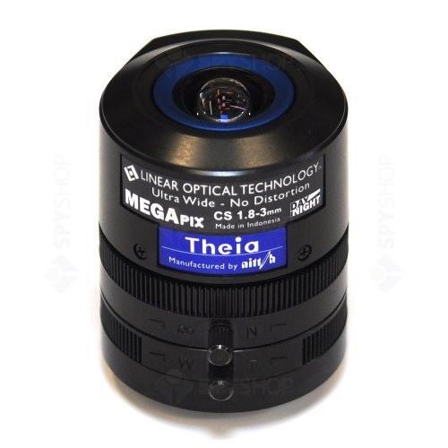 Lentila varifocala Megapixel de 1.8-3 mm Theia SL183M