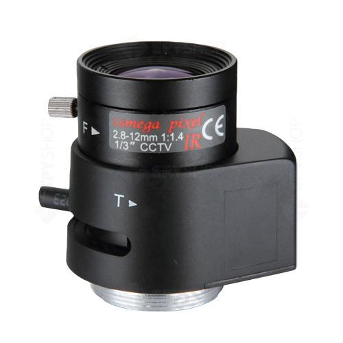 Lentila varifocala megapixel de 2.8-12 mm RV02812D.IR
