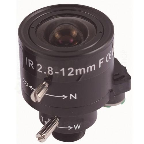 Lentila varifocala megapixel de 2.8-12 mm 02812VIR