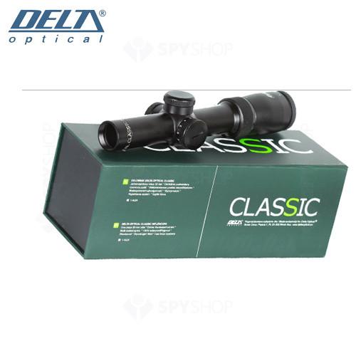Luneta de arma Delta Classic 1-4x24 IR