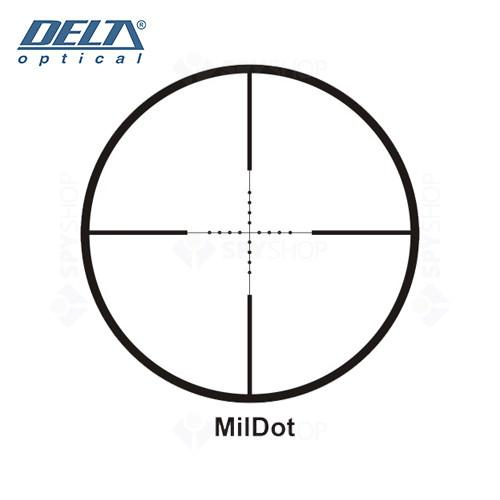 Luneta de arma Delta Classic 3-9x40