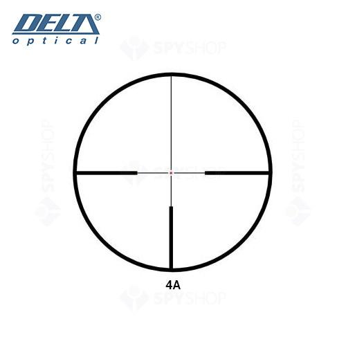 Luneta de arma Delta Titanium 2,5-10x56