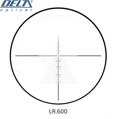 Luneta de arma Delta Titanium 3-24x56 ED SF CCTurrets