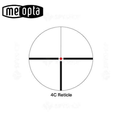 Luneta de arma Meopta MEOSTAR R1 RD 7x56