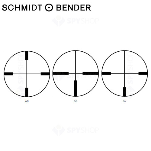 LUNETA DE ARMA SCHMIDT & BENDER KLASSIK HUNGARIA 8X56