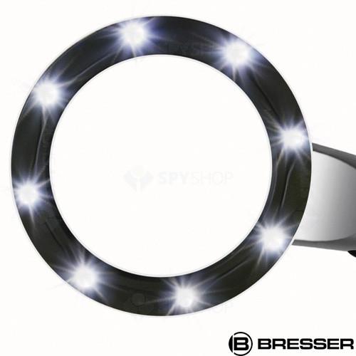 Lupa iluminata cu LED 2.5x Bresser 6025100