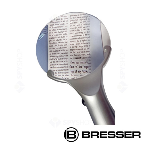 Lupa iluminata cu LED 4x Bresser 6024001