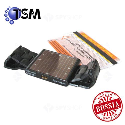 Micro Reportofon digital Profesional mascat in ceas de mana TSM Edic-mini LED S51