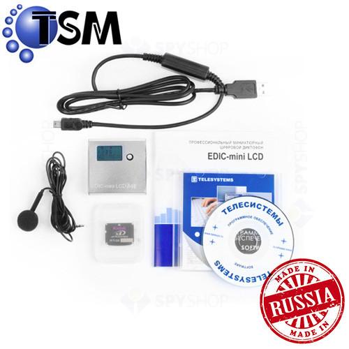 Micro Reportofon digital Profesional 4GB TSM Edic-Mini LCD A10