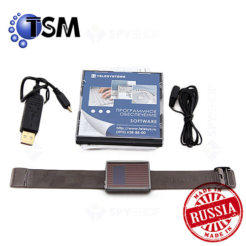Micro Reportofon digital Profesional mascat in ceas de mana TSM Edic-mini Daily S50