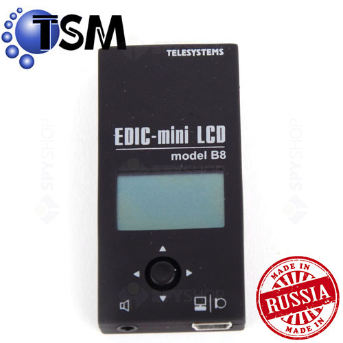 Micro Reportofon digital Profesional TSM Edic-Miny LCD B8-600h 8GB
