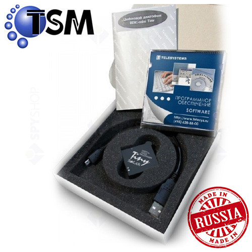 Micro Reportofon digital Profesional TSM Edic-Miny Tiny Solar