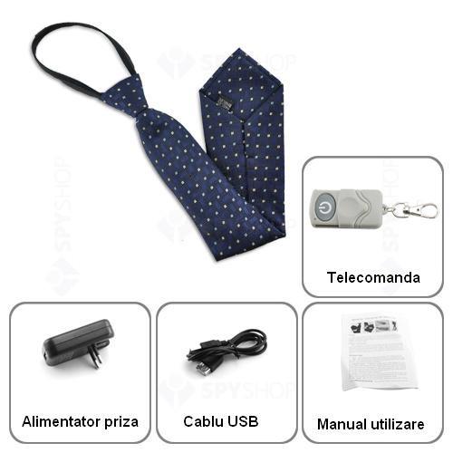 Microcamera ascunsa in cravata