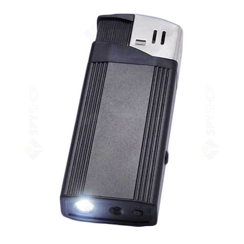 Microcamera mascata in bricheta cu LED