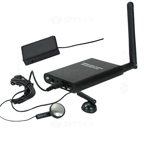 Microfon wireless pentru asculatare ambientala