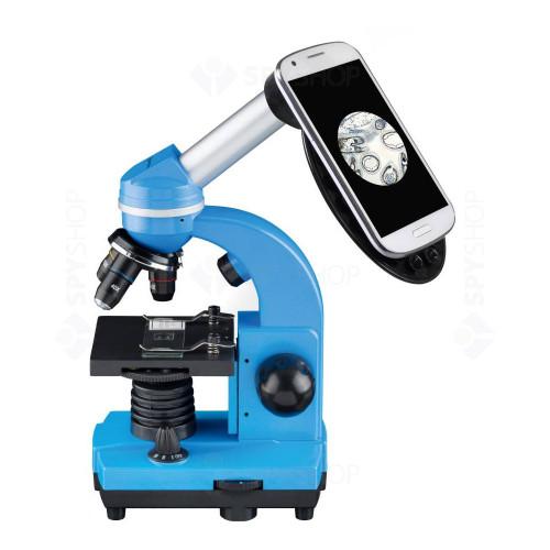 Microscop optic Bresser Junior Student Biolux, albastru