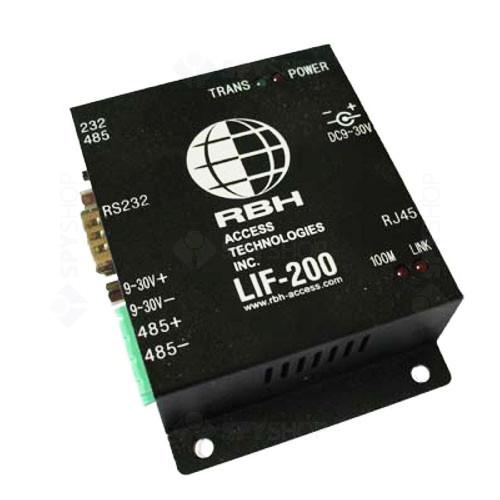 Modul convertor LAN la RS232/485 RBH LIF-200
