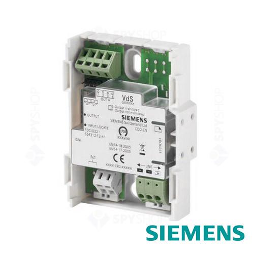Modul cu 1 intrare/iesire adresabila Siemens FDCIO221
