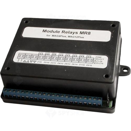 Modul cu 8 iesiri pe releu Teletek MR8